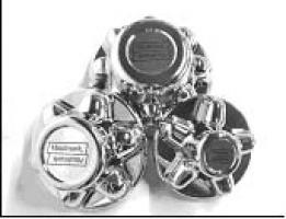 5 Lug Chrome ABS Lug Covers