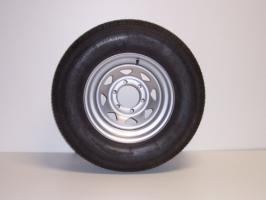 ST225/75R15 Radial Tire 6 Lug Silver Rim